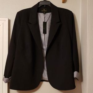 NWT Worthington black blazer